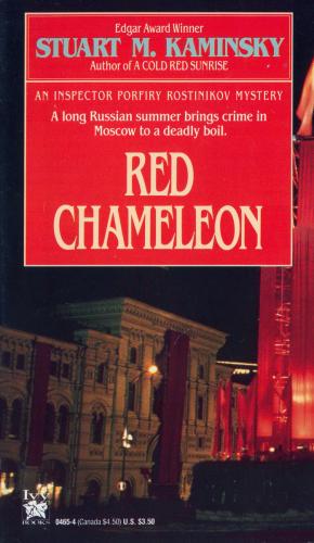 Red Chameleon cvr