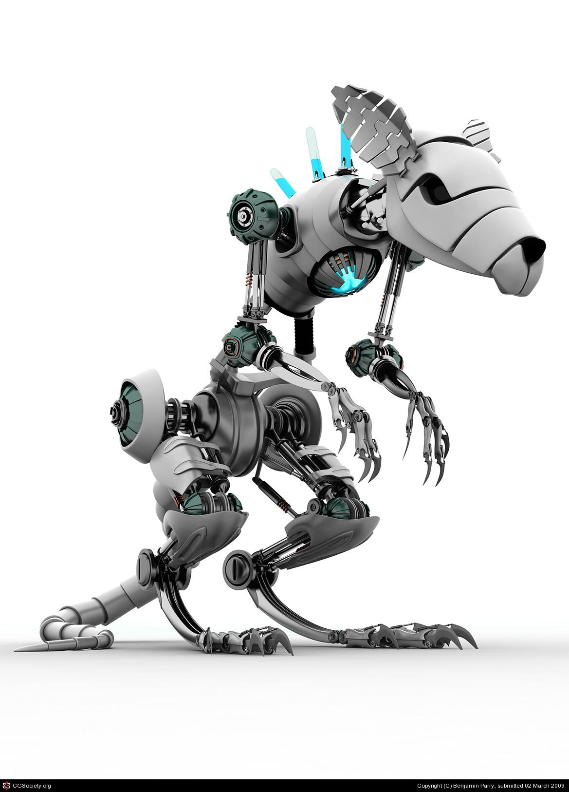 Robot Art   The Broken Bullhorn