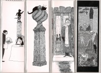 Gorey Bookmarks 01