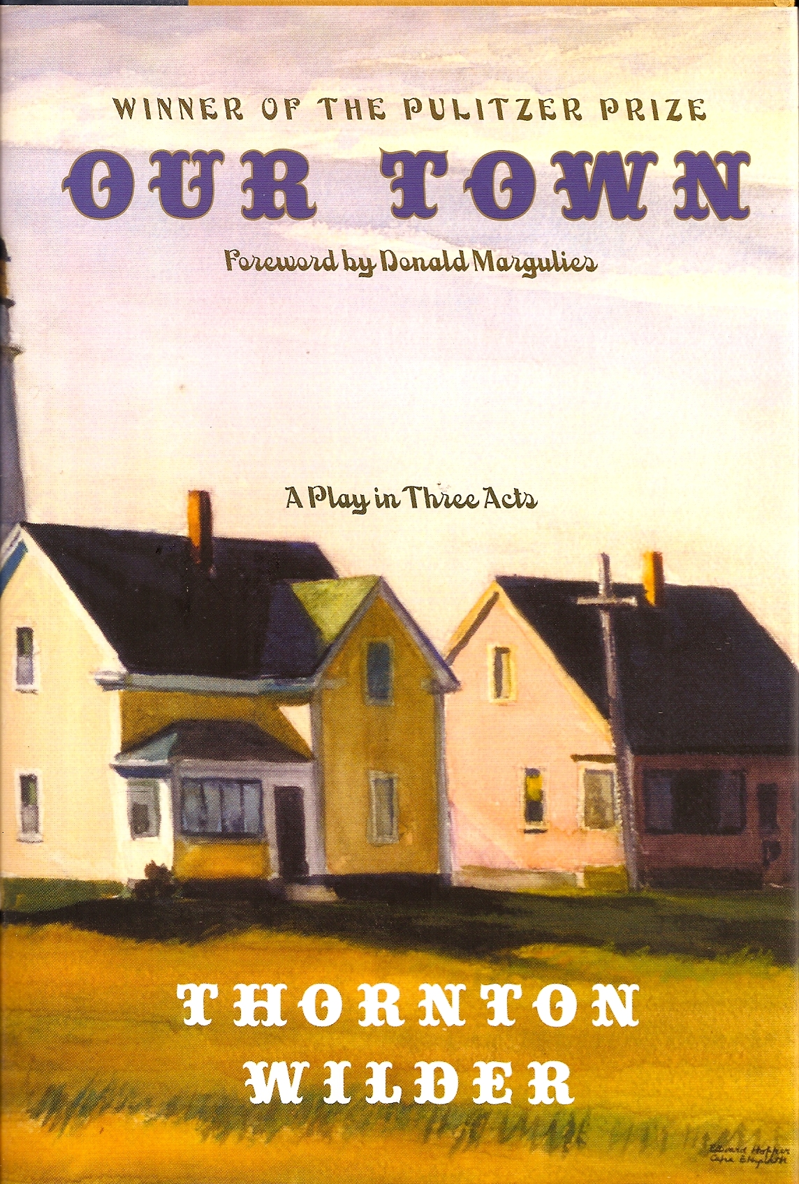 a report on the characters in our town a play by thornton wilder Our town study guide contains a biography of thornton wilder, quiz questions, major themes, characters, and a full summary and analysis about our town our town summary.