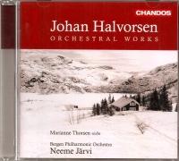 Johan Halvorson Orchestral Works - 01