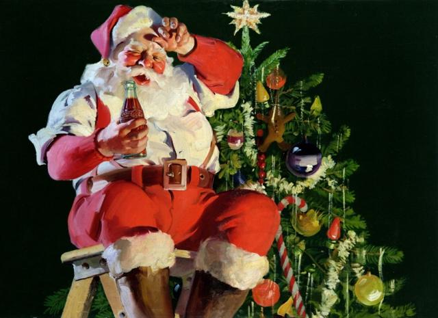 Coca-Cola-Art_Christmas_Santa10
