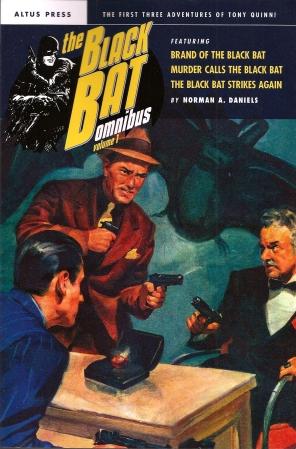Black Bat Omnibus vol 1 cvr