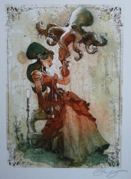 """Tea Time"" by Brian Kesinger"