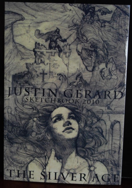 Justin Gerard 2010 sketchbook