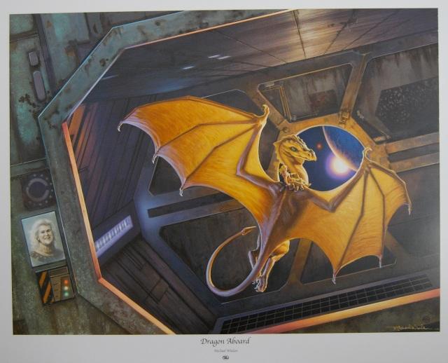 Michael Whelan - Dragon Aboard