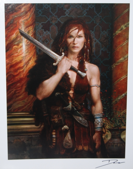 Red Sonja by Donato Giancola