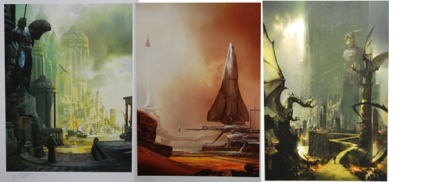 Stephan Martiniere - 3 images