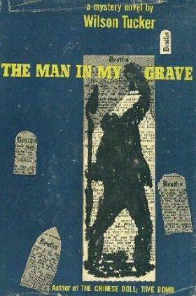 man in grave